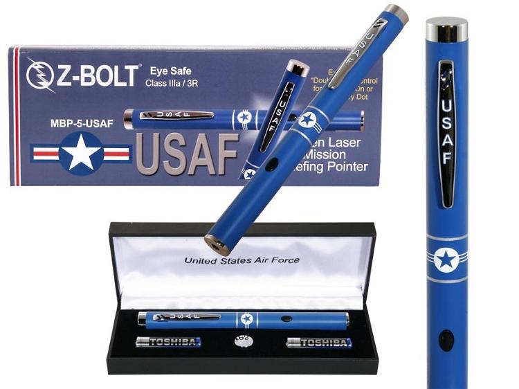 Z Bolt Laser Pointer US Air Force Green Las...