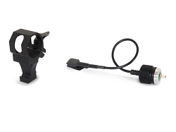 Offset Laser Rail Mount & Remote Cable Switch