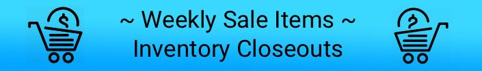 Inventory Clearance Sale - Save 75%