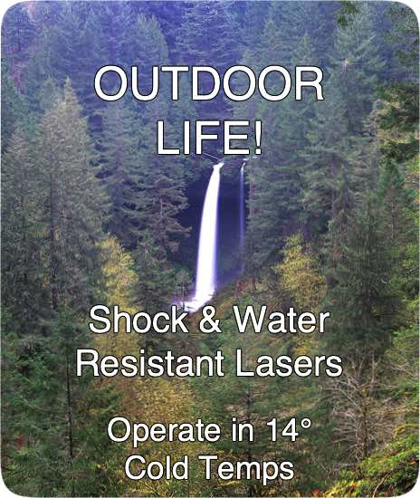 Ruggedized Green Laser Pointers for Outdoor Life